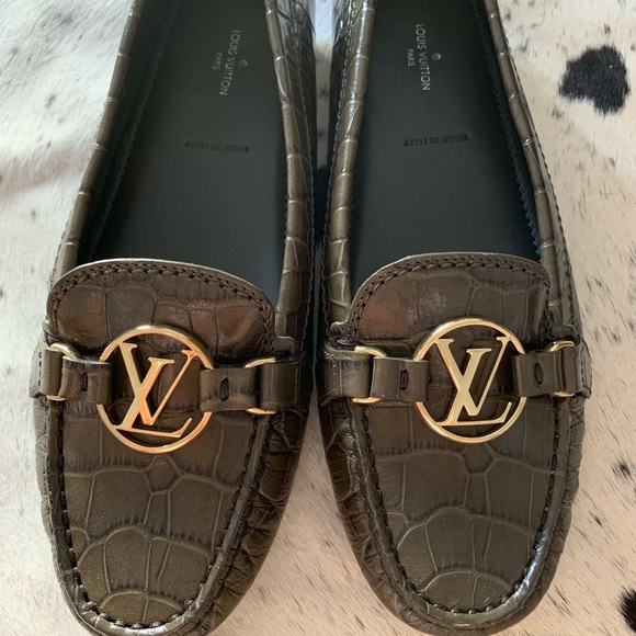 ee8d1e86c29f Louis Vuitton dauphine loafers size 37.5